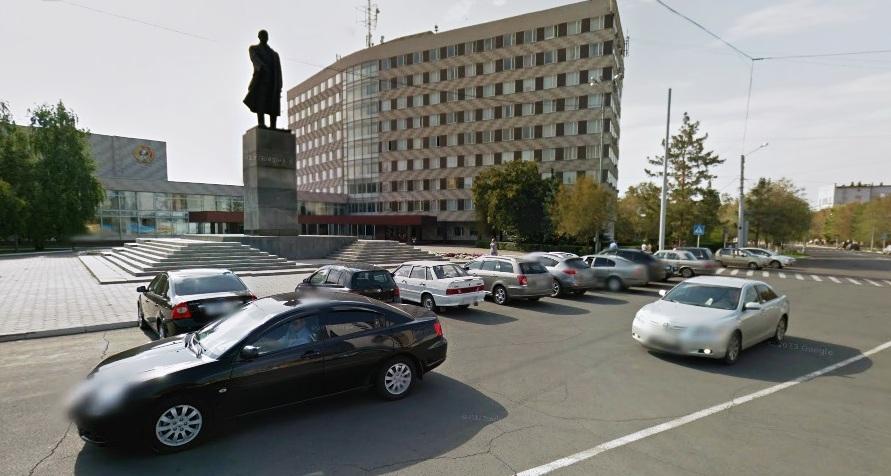 Площади Оренбурга