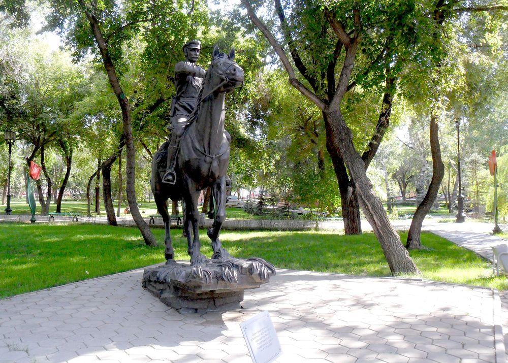 Памятник Кавалеристу