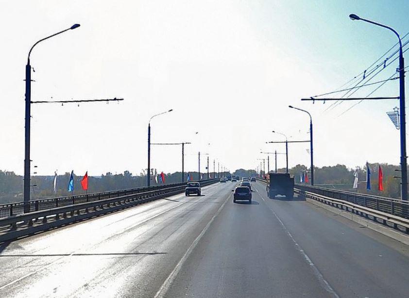 Автомобильный мост через р. Урал