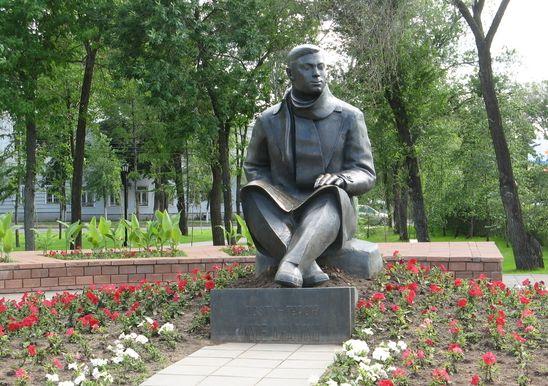 Памятник поэту-герою Мусе Джалилю
